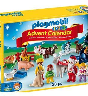 Calendrier de l'Avent, Noël à la ferme, Playmobil